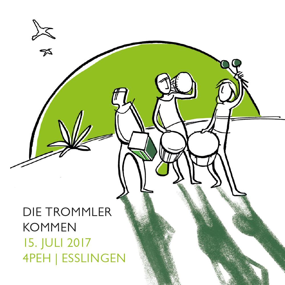 Ein Konzert mit Samba, Cajon, Afro und Latin Percussion: Die Trommler kommen - am 15. Juli 2017 nach Esslingen